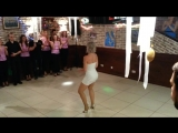 Sara Lopez solo dance at the Kizomba United Party