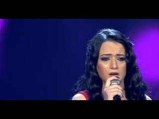 Arab Idol 2014 Manal Mousa- حلقة نتائج التصويت -  منال موسى