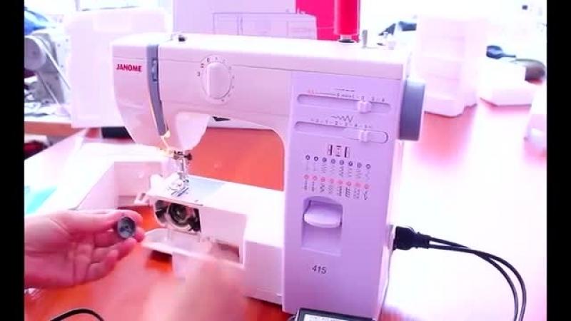 Janome 415 [обзор швейной техники] (Low)
